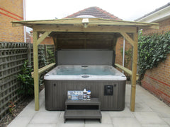 Hot Tub Installation for white