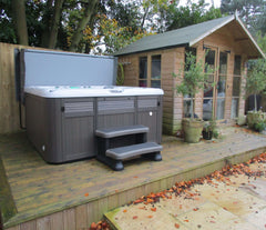 Hot Tub Installation for Loy