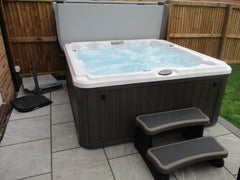 Hot Tub Installation for Johnson