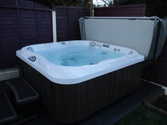 Hot Tub Installation for Trueman