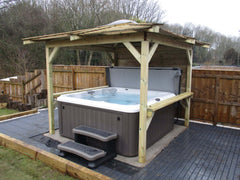 Hot Tub Installation for Keith