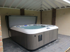 Hot Tub Installation for Booth