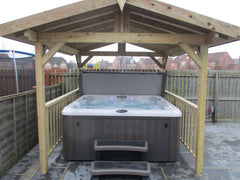 Hot Tub Installation for Dilnot
