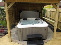 Hot Tub Installation for Tharratt