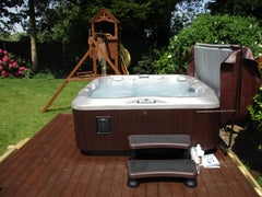 Hot Tub Installation for Rock