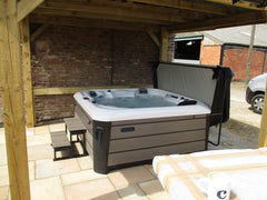 Hot Tub Installation for James