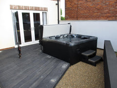 Hot Tub Installation for Connor