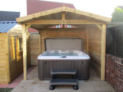 Hot Tub Installation for Quinlan
