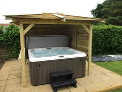 Hot Tub Installation for Foster