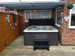 Hot Tub Installation for Gray