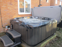 Hot Tub Installation for Barley