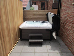 Hot Tub Installation for Mackie