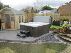 Hot Tub Installation for Padley