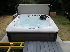 Hot Tub Installation for Major