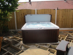 Hot Tub Installation for Blenkinsop