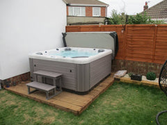 Hot Tub Installation for Illingworth