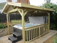 Hot Tub Installation for Thackray