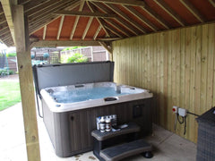Hot Tub Installation for Ayres