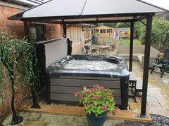 Hot Tub Installation for Edgar