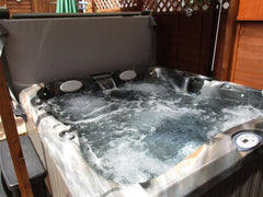 Hot Tub Installation for Hall