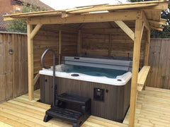 Hot Tub Installation for Mr Cockhill
