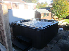 Hot Tub Installation for Lewis