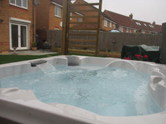 Hot Tub Installation for Brabbs