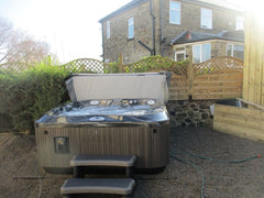 Hot Tub Installation for Richards