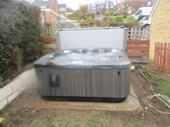Hot Tub Installation for Jones