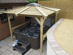 Hot Tub Installation for Longbottom