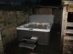 Hot Tub Installation for Davey