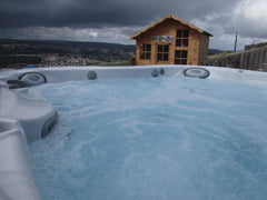 Hot Tub Installation for Mazurke