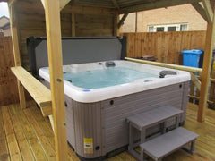 Hot Tub Installation for Lomax