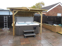 Hot Tub Installation for Brewitt