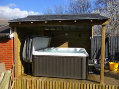 Hot Tub Installation for Thorne