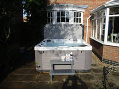 Hot Tub Installation for Davies