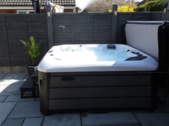 Hot Tub Installation for Thacker