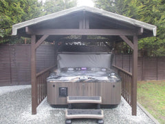 Hot Tub Installation for Rymer