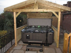 Hot Tub Installation for Milligan