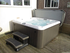 Hot Tub Installation for Lloyd