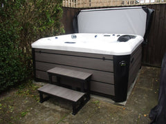 Hot Tub Installation for Saunders