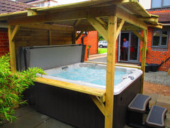 Hot Tub Installation for Duck
