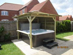 Hot Tub Installation for Holberry