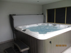 Hot Tub Installation for Simon