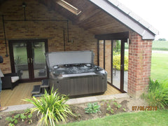 Hot Tub Installation for Fretwell