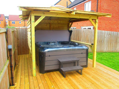 Hot Tub Installation for Foreman