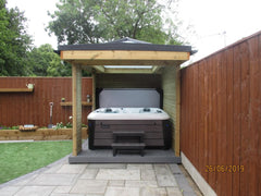 Hot Tub Installation for West