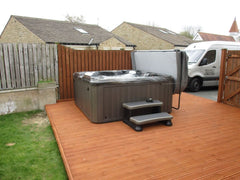 Hot Tub Installation for Green