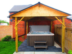 Hot Tub Installation for Finney
