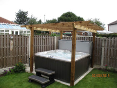 Hot Tub Installation for Newson
